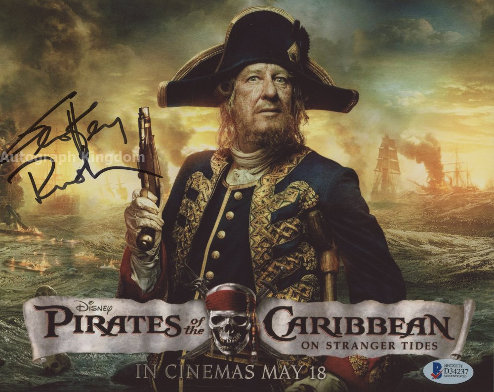 "Geoffrey Rush Pirates Of The Caribbean 8 x 10"" Signed Autographed Photo (Reprint:1325)"