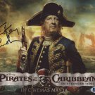 """Geoffrey Rush Pirates Of The Caribbean 8 x 10"""" Autographed Photo (Ref:1325)"""