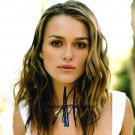 "Keira Knightley 8 x 10"" Autographed Photo Pirates Of The Caribbean (Reprint:1334) FREE SHIPPING"
