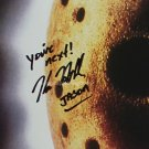 "Kane Hodder (Friday The 13th) 8 x 10"" Autographed Photo (Reprint:1356) FREE SHIPPING"