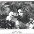 """Brendan Fraser 8 x 10"""" Autographed Photo George Of The Jungle / Gods & Monsters (Reprint:1353)"""