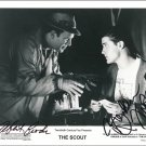 """The Scout Brendan Fraser & Albert Brooks 8 x 10"""" Autographed Photo - (Ref:1355)"""