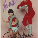 "Robin Williams & Pam Dawber| Mork & Mindy 8 x 10"" Autographed Photo (Reprint:1383)"