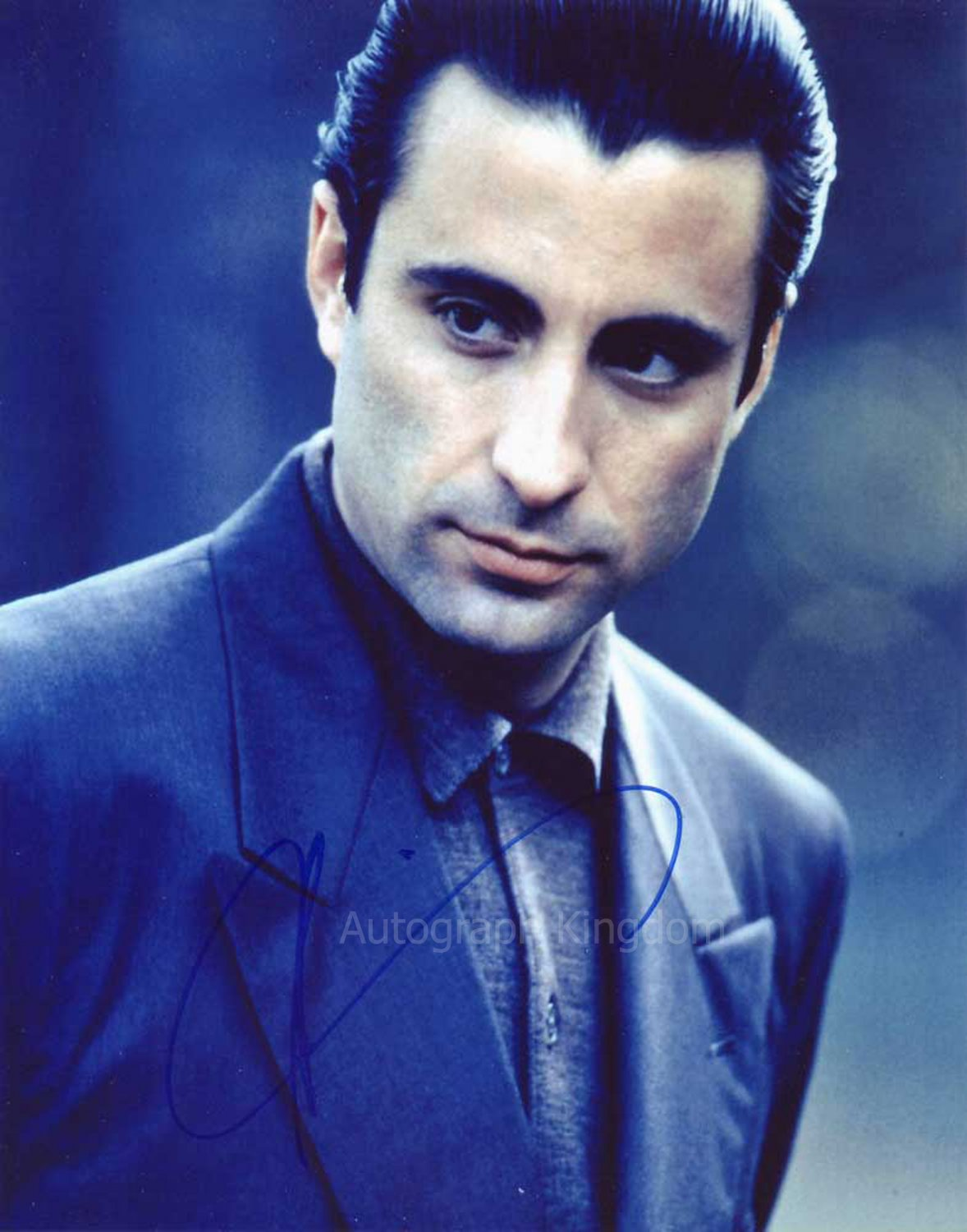 """Andy Garcia 8 x 10"""" Autographed / Signed Photo (Reprint:1384) FREE SHIPPING"""