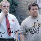 """Simon Pegg & Nick Frost """"Shawn Of The Dead"""" Autographed Photo (Ref:1392)"""