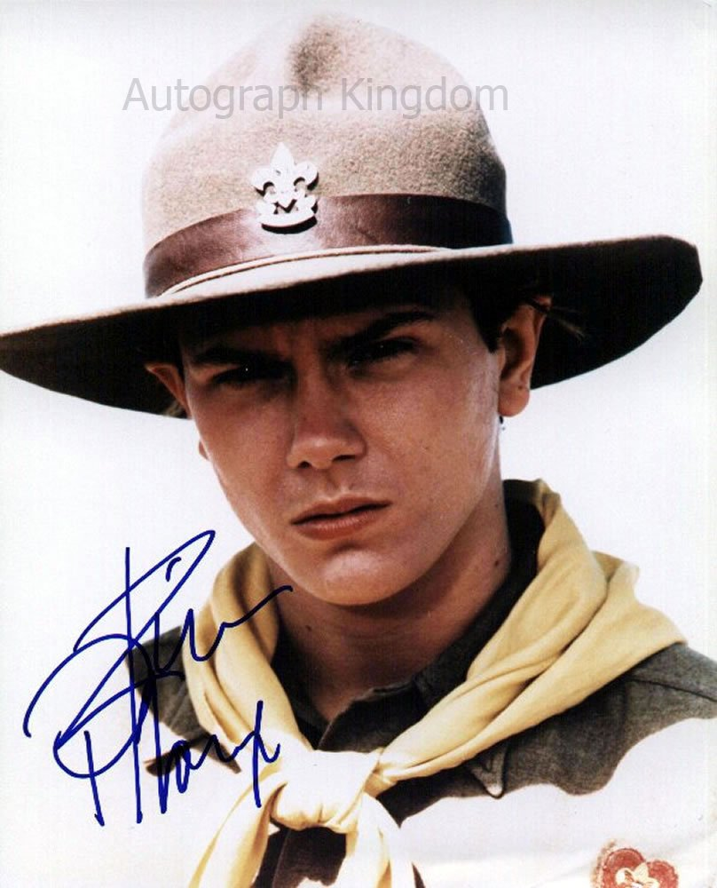 "River Phoenix (Stand By Me) ""8 x10"" Autographed Photo (Ref:1395)"