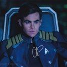 "Chris Pine (Star Trek / This Means War) ""8 x 10"" Autographed Photo (Ref:1411)"