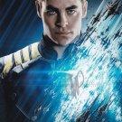 "Chris Pine 8 x 10"" Autographed Signed Photo Star Trek / This Means War (Reprint:1412)"