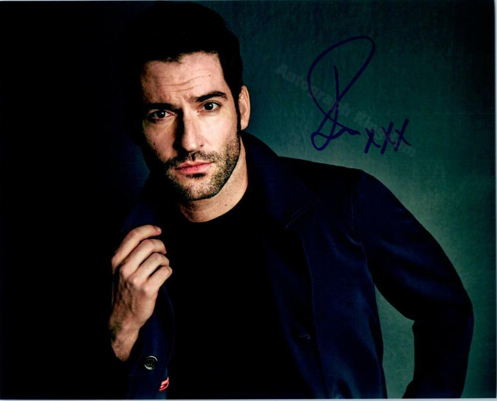 "Tom Ellis (Lucifer) 8 x 10"" Autographed Photo - (Ref:1434)"