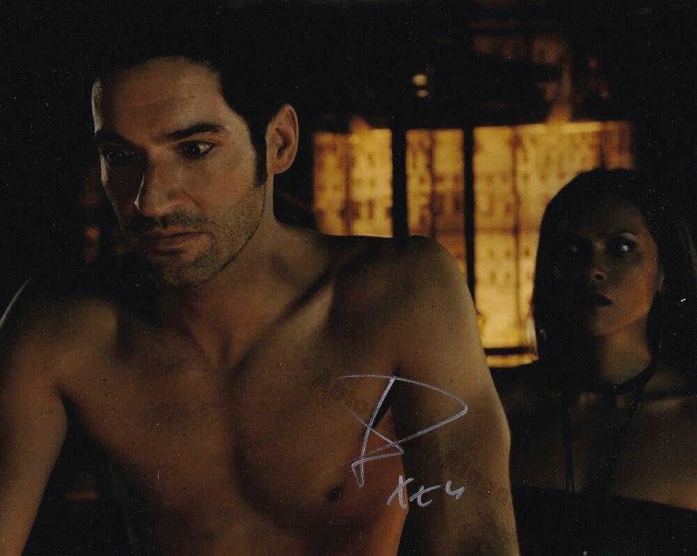 """Tom Ellis (Lucifer) 8 x 10"""" Autographed Photo - (Ref:1440)"""