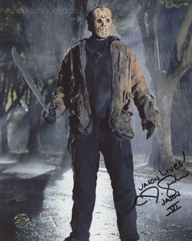 """C.J Graham (Jason Voohers) 8 x 10"""" Autographed Photo - (Ref:1444)"""