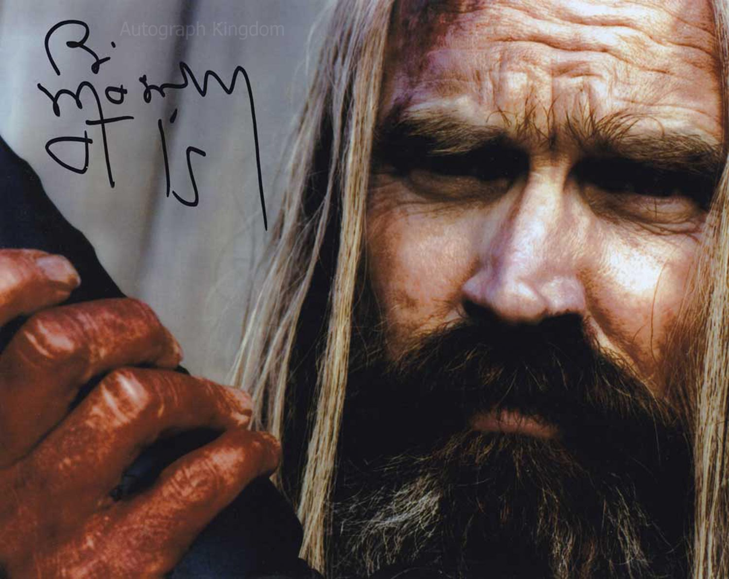 "Bill Moseley The Devils Rejects 8 x 10"" Autographed Photo - (Ref:1445)"
