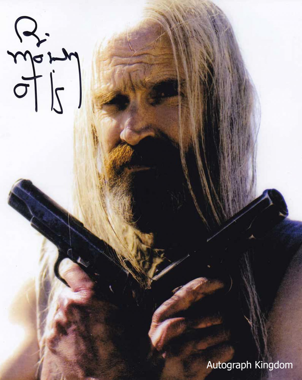 "Bill Moseley House Of 1000 Corpses 8 x 10"" Autographed Photo - (Ref:1447)"