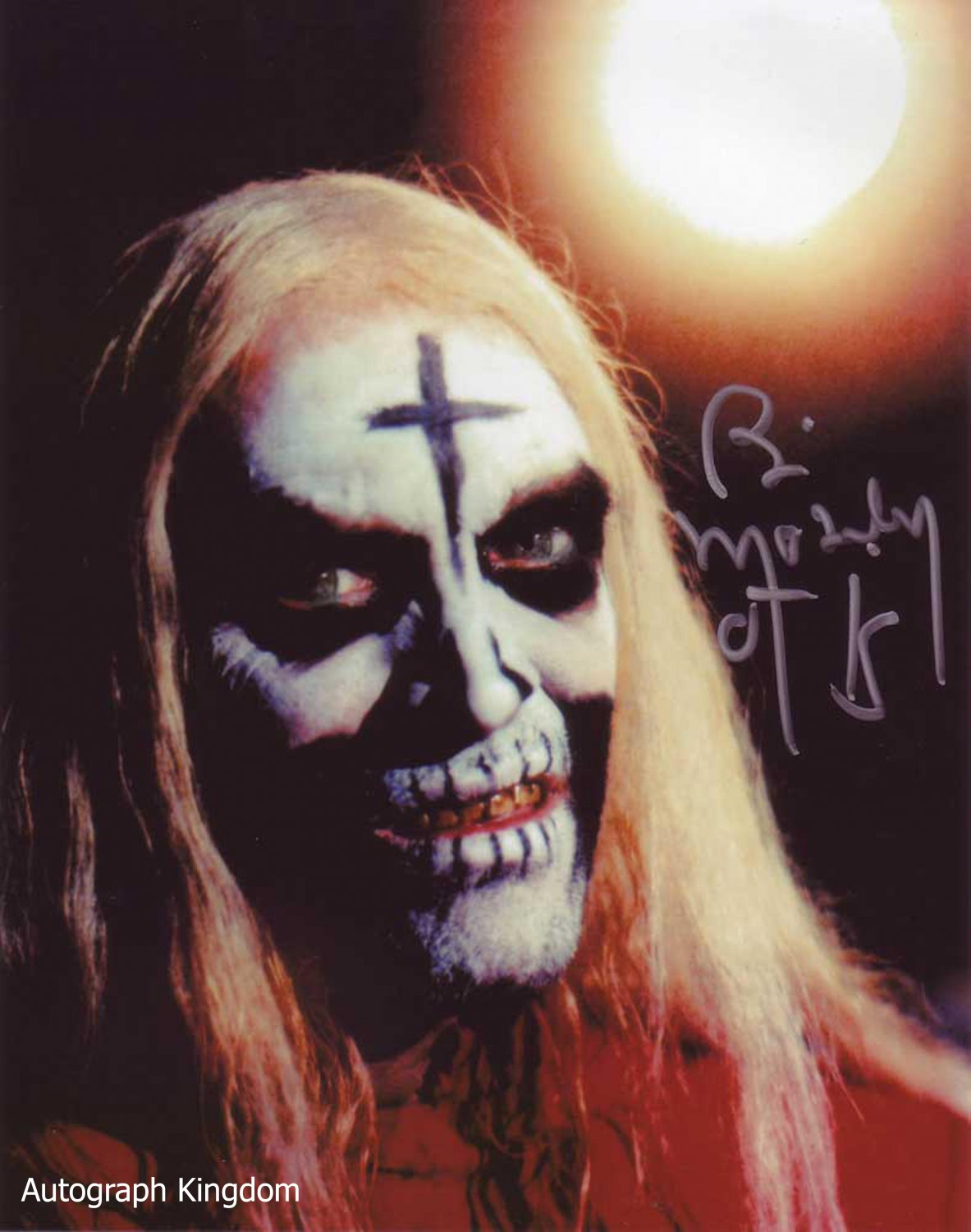 """Bill Moseley House Of 1000 Corpses 8 x 10"""" Autographed Photo - (Ref:1448)"""