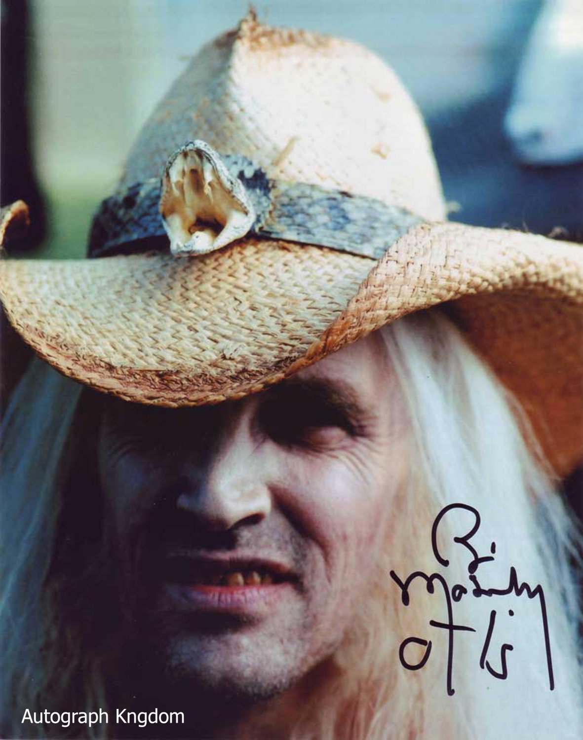 "Bill Moseley House Of 1000 Corpses 8 x 10"" Autographed Photo - (Ref:1449)"