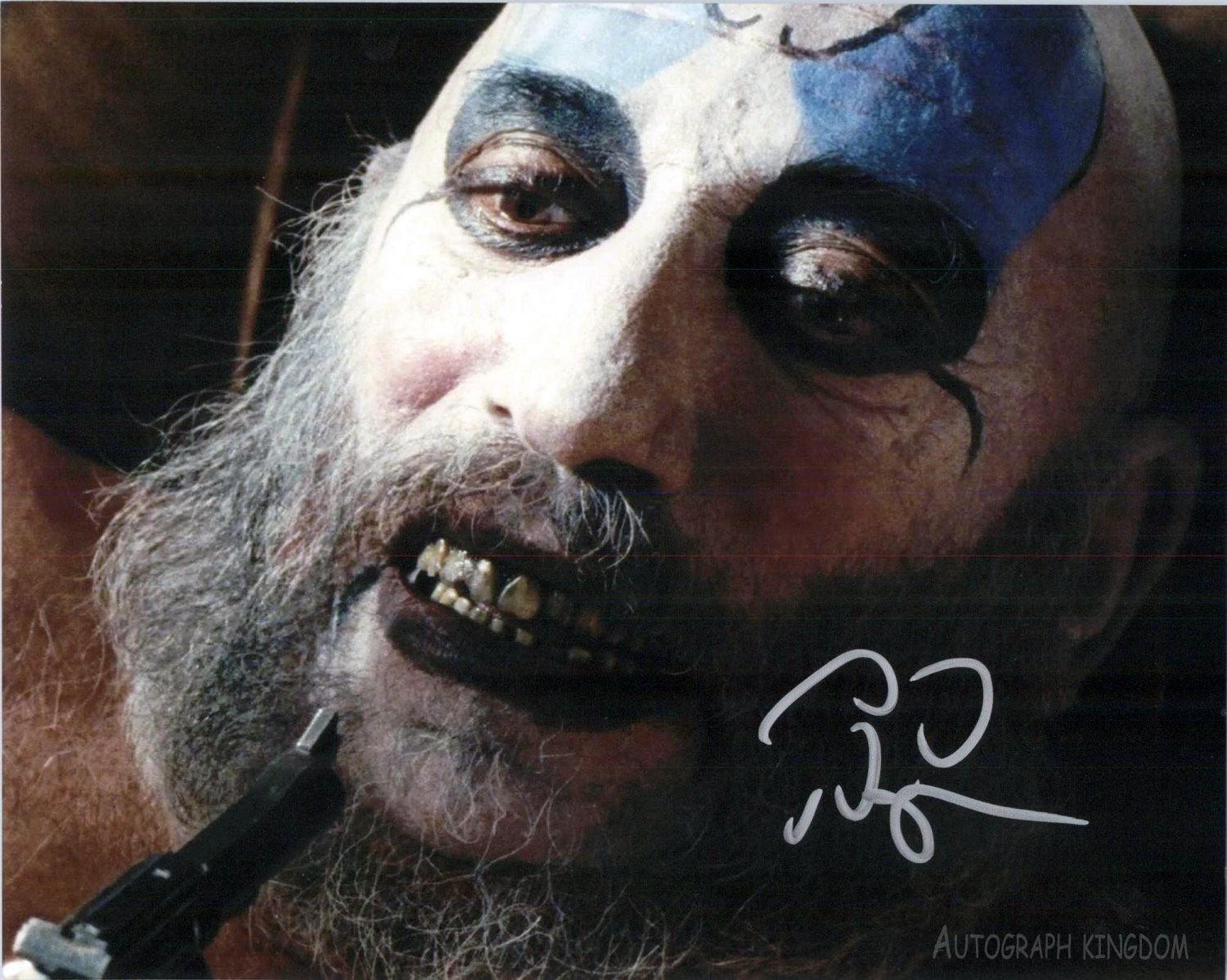 "Sid Haig (Captain Spaulding: House of 1,000 Corpses) 8 x 10"" Autographed Photo- (Reprint :1491)"