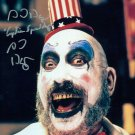 "Sid Haig Captain Spaulding  8 x 10"" Autographed / Signed Glossy Photo Print - (Ref:1493)"