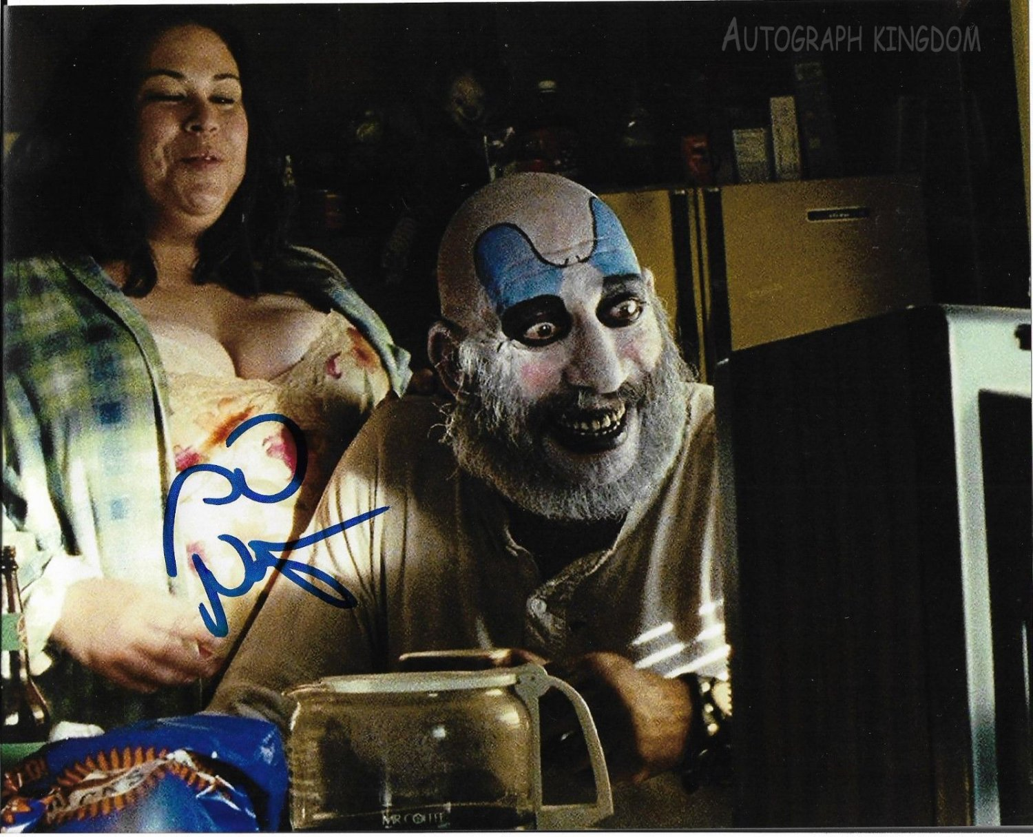 "Sid Haig Captain Spaulding 8 x 10"" Autographed Photo (Reprint:1495) ideal for Birthdays & X-mas"