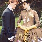 "Caitriona Balfe & Sam Heughan (Outlander) 8 X 10"" Signed Autographed Photo (Reprint:576)"