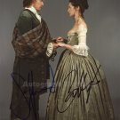 "Caitriona Balfe & Sam Heughan (Outlander) 8 X 10"" Autographed Photo (Reprint:1472) FREE SHIPPING"