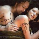 "Outlander Caitriona Balfe & Sam Heughan 8 X 10"" Autographed Photo - (Ref:1474)"
