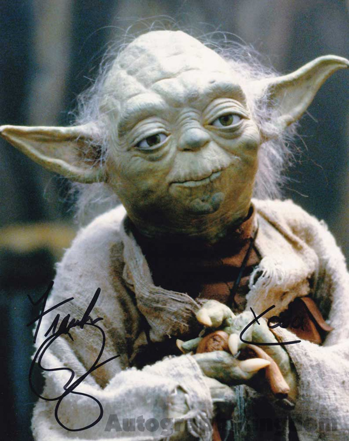 """Frank Oz (Yoda: Star Wars) 8 x 10"""" Autographed / Signed Photo (Reprint:1488) FREE SHIPPING"""