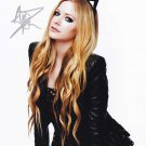 """Avril Lavigne 8 x 10"""" Signed/ Autographed  Glossy Photo Print - (Ref:1492)"""