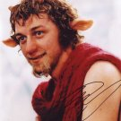 "James McAvoy (The Hobbit: Salt) 8 x 10"" Autographed Photo (Reprint 1494) FREE SHIPPING"