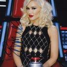 "Gwen Stefani / No Doubt 8 x 10"" Autographed /Signed Glossy Photo Print (Reprint Ref:1508)"