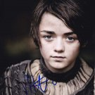 "Maisie Williams ""Game of Thrones"" 8 x 10"" Autographed Photo-(Reprint:1518) FREE SHIPPING"