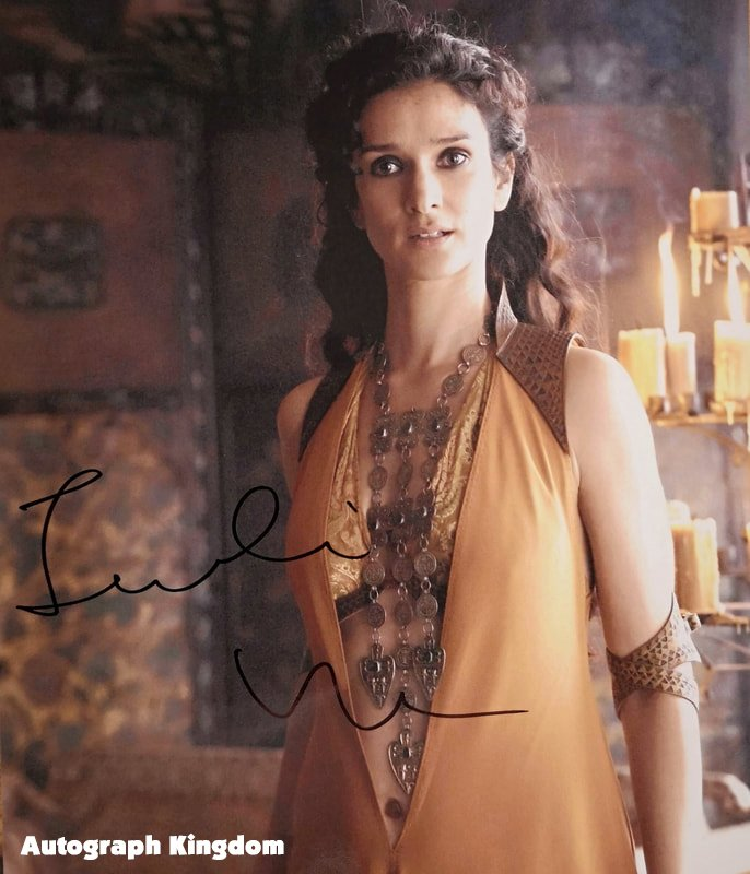"Indira Varma (Game of Thrones) 8 x 10"" Autographed Photo (Reprint :1529) ideal for Birthdays & X-mas"