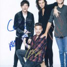"Signed by 5 One Direction 8 x 10"" Autographed Photo (Reprint) Payne, Horan, Styles, Malik"