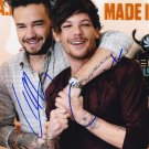 """Liam Payne & Louis Tomlison 8 x 10"""" signed / autographed glossy photo print - (Ref:1548)"""
