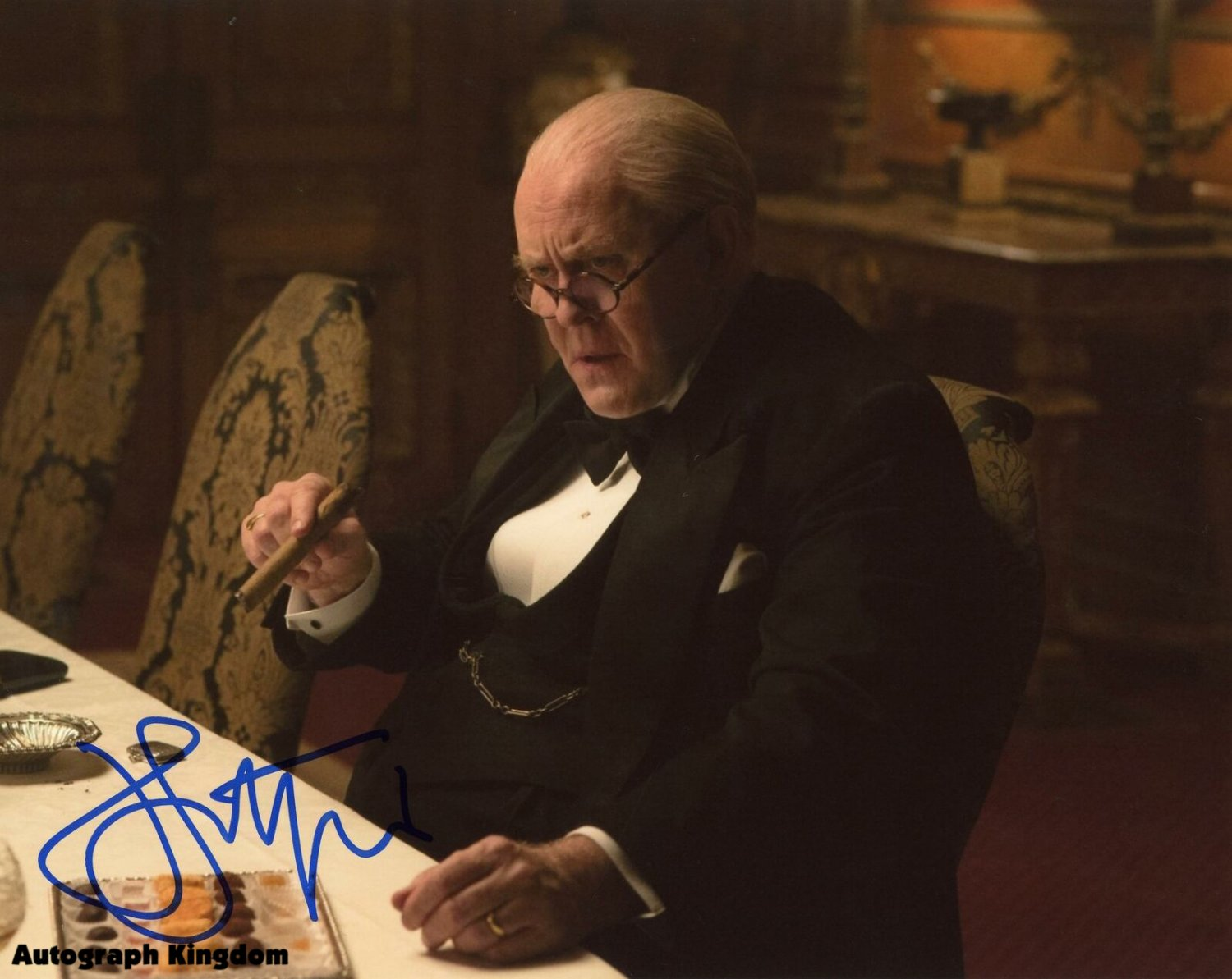 """John Lithgow Dexter, 3rd Rock From The Sun, The Crown  8 x 10"""" Autographed Photo (Reprint Ref:1597)"""
