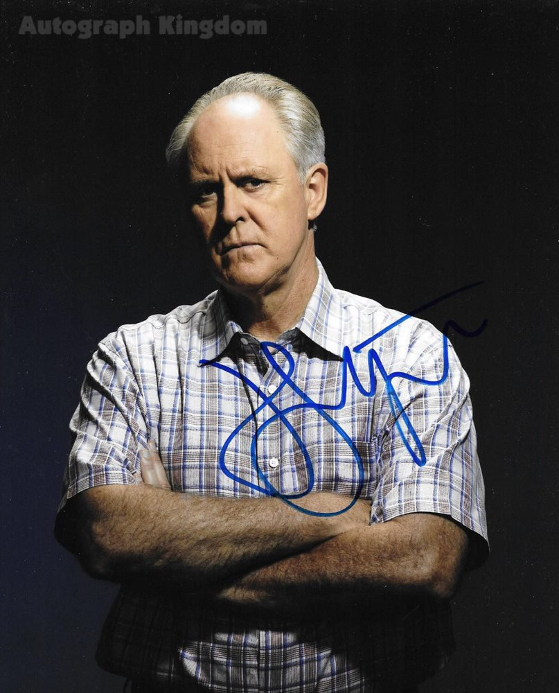 """John Lithgow (Dexter, 3rd Rock From The Sun, The Crown) 8 x 10"""" Autographed Photo (Reprint Ref:1598)"""