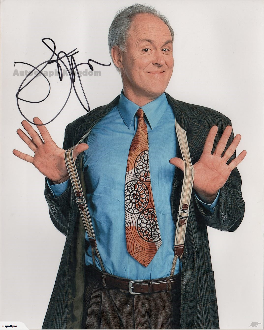 """John Lithgow Dexter, 3rd Rock From The Sun, The Crown  8 x 10""""Autographed Photo (Reprint Ref:1597)"""