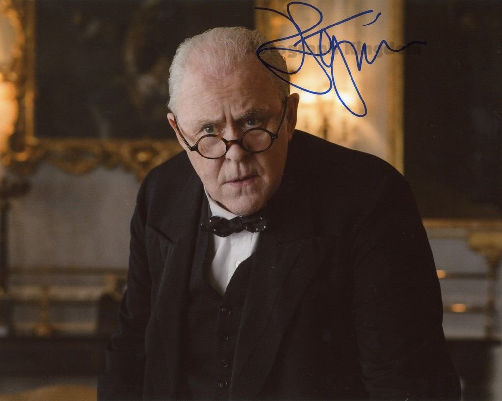 "John Lithgow Dexter, 3rd Rock From The Sun, The Crown  8 x 10"" Autographed Photo (Reprint Ref:1597)"