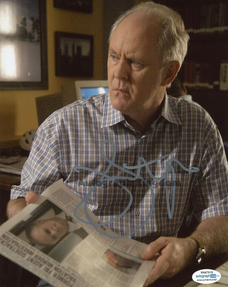 """John Lithgow Dexter, 3rd Rock From The Sun, The Crown  8 x 10"""" Autographed Photo (Reprint Ref:1601)"""