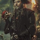 Ian McShane Pirates Of The Caribbean Autographed / Signed Glossy Photo Print- (Ref:1574)