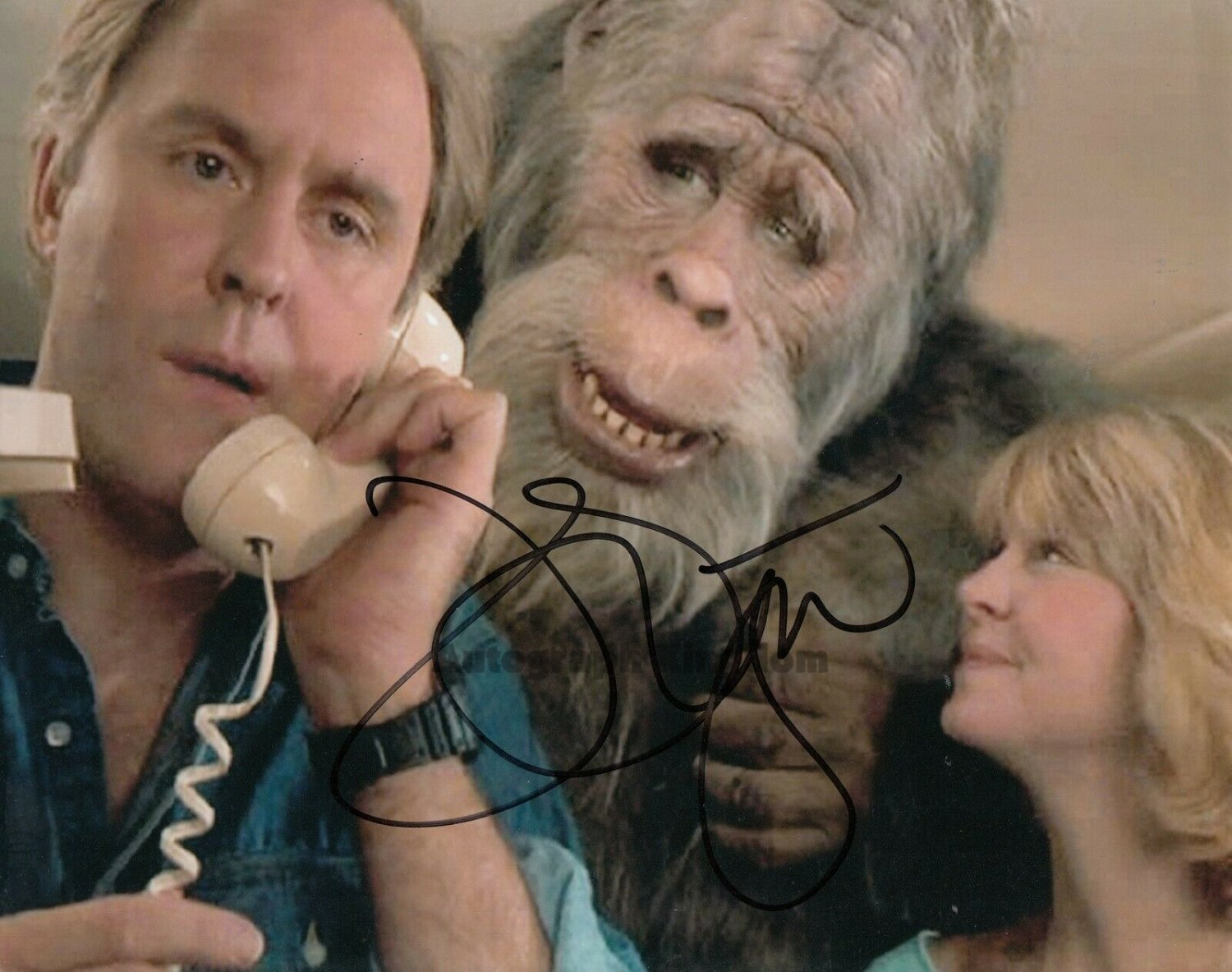 """John Lithgow Harry & The Henderson 8 x 10"""" autographed photo (Reprint Ref:1577)"""
