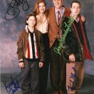 3rd Rock From The Sun Cast x 4 Autographed / Signed Photo (Reprint Ref:1577)