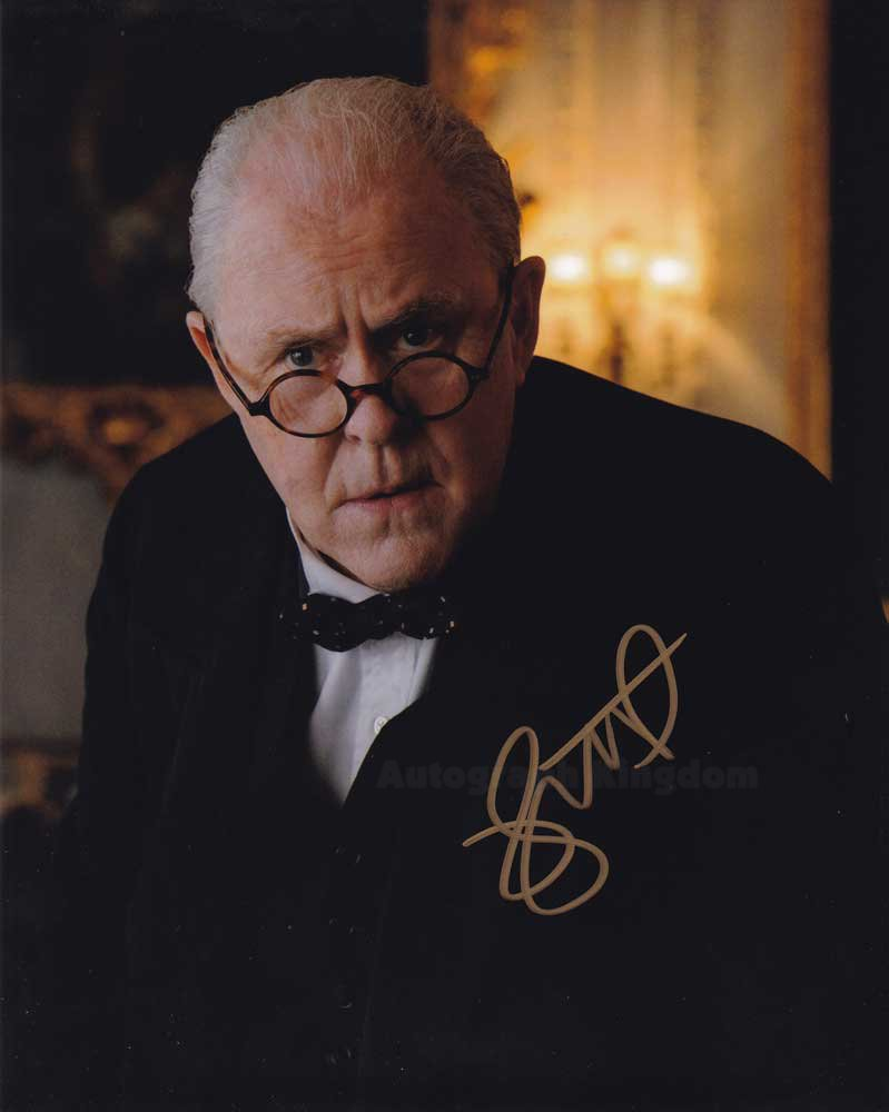 """John Lithgow (Winston Churchill: The Crown) 8 x 10""""autographed photo (Reprint Ref:1582)"""