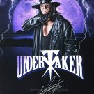 "The Undertaker WWF / WWE Wrestler 8 x 10"" Autographed Photo (Reprint Ref:1581)"