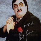 "Paul Bearer WWF / WWE Wrestler 8 x 10"" Autographed Photo (Reprint Ref:1582)"