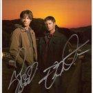 "Supernatural Jensen Ackles & Jared Padelecki 8 X 10"" Autographed Photo (REPRINT 1594) FREE P+P"