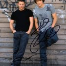 "Signed by 2 Supernatural Jensen Ackles & Jared Padelecki 8 X 10"" Autographed Photo- (REPRINT:1595)"