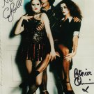 """Nell Campbell & Patrica Quinn The Rocky Horror Picture Show 8 x 10""""signed photo - (Reprint:1608)"""