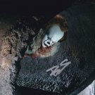 """Bill Skarsgård Pennywise The Dancing Clown 8 x 10"""" Autographed Photo -(Reprint:1609)"""