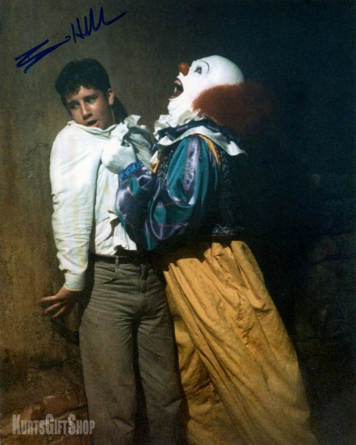 "Ben Heller Stephen Kings IT Awesome 8 x 10"" Autographed Photo (Reprint Ref:1628)"
