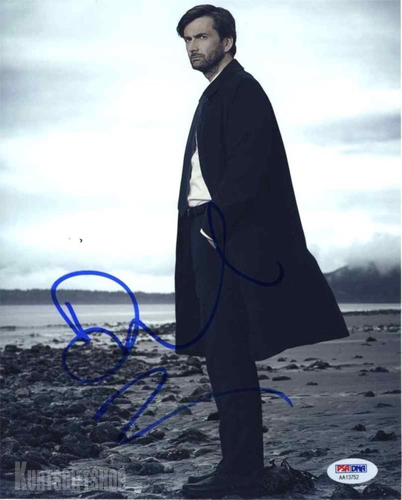"""David Tennant, Dr Who, Good Omens 8 x 10"""" Autographed Photo (Reprint Ref:1635)"""